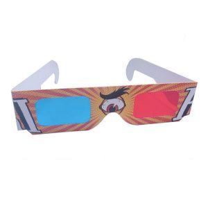3D Paper Sunglasses