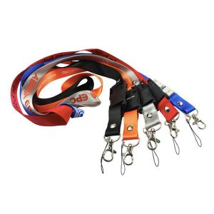 USB Flash Drives Lanyards customized with your logo printed